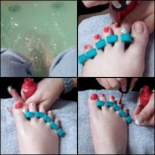 Scarlet's Pedicure