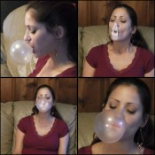 Vivian Ireene Pierce Blowing Bubbles