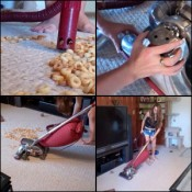 Gina Vacuums Cheerios with a Kirby